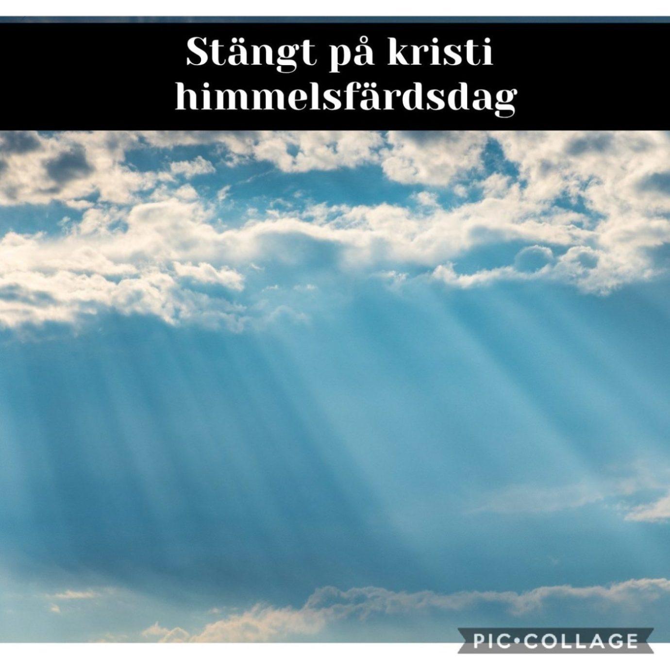STÄNGT